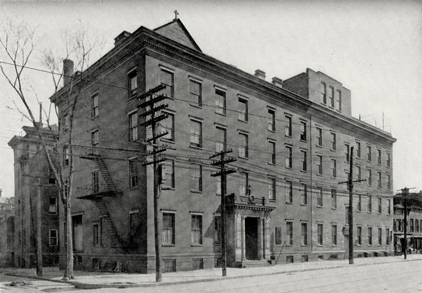 St. Peter's Hospital, Albany, 1918