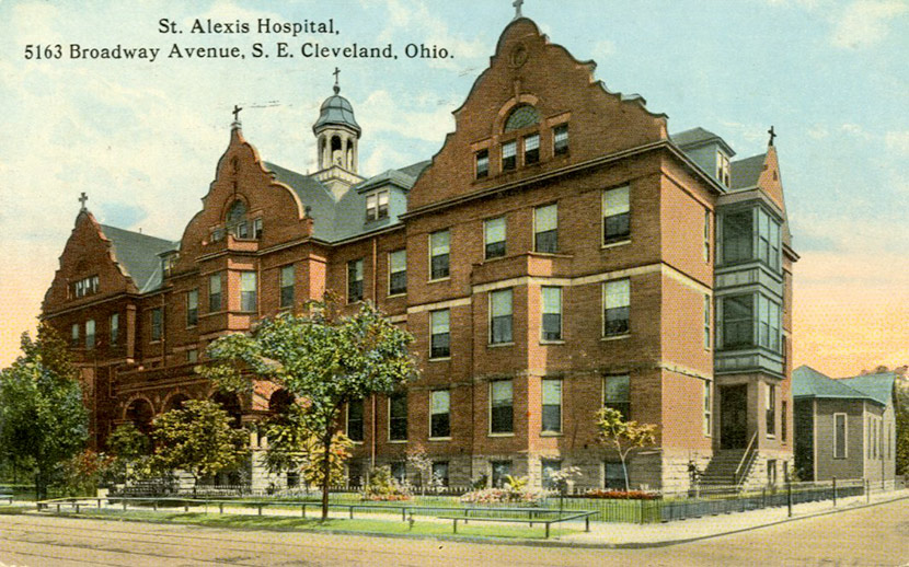 St. Alexis Hospital at 5163 Broadway Ave, SE.