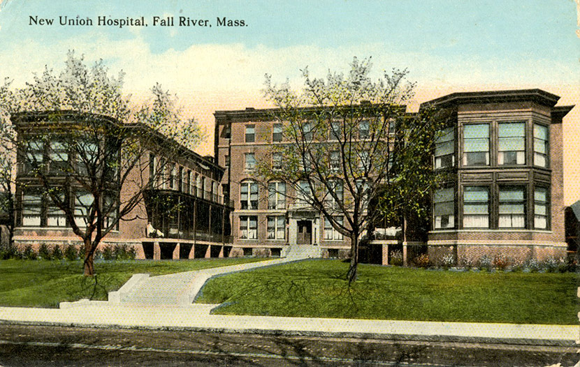 The Union Hospital in Fall River.