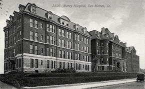 Mercy Hospital, Des Moines.