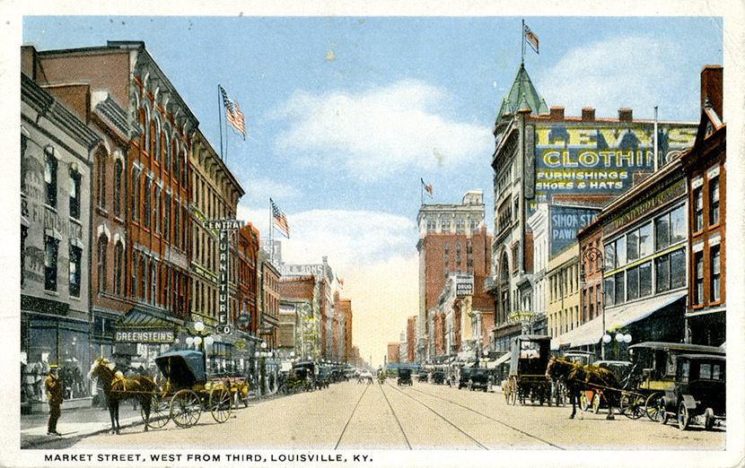 louisville  kentucky and the 1918